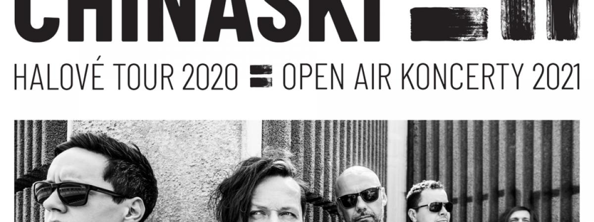 Kapela Chinaski stěhuje halové turné pod širé nebe a představuje nový klip k Básni