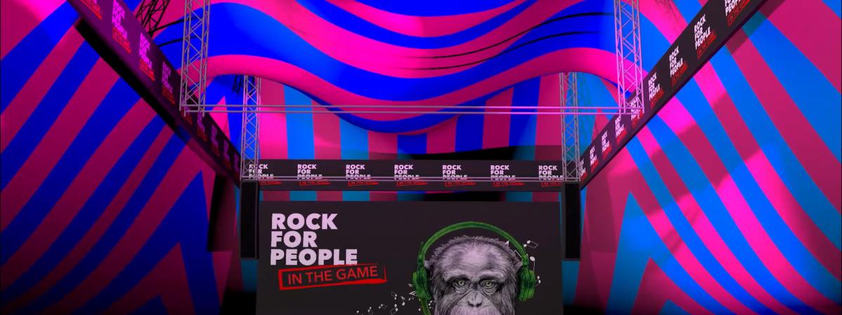 Do herního virtuálního prostředí se koncem ledna přenese festival Rock for People