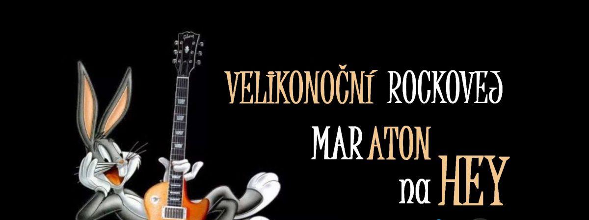 Velikonoční rockovej maraton na rádiu HEY