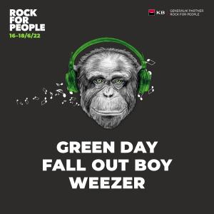 Green Day, Fall Out Boy a Weezer potvrzují účast na Rock for People 2022