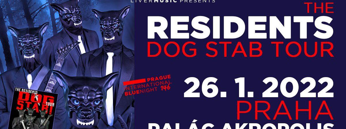 Americká legendární záhadná kapela The Residents vystoupí v Praze