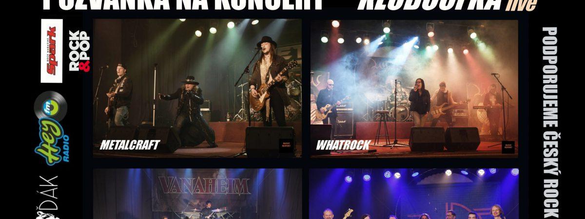 Koncert pro rockovou rodinu