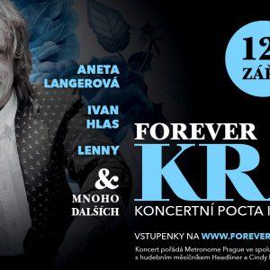Forever Král. Týden s Ivanem Králem vyvrcholí jedinečnou koncertní poctou