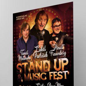 STAND UP  & MUSIC FEST, první komediální festival