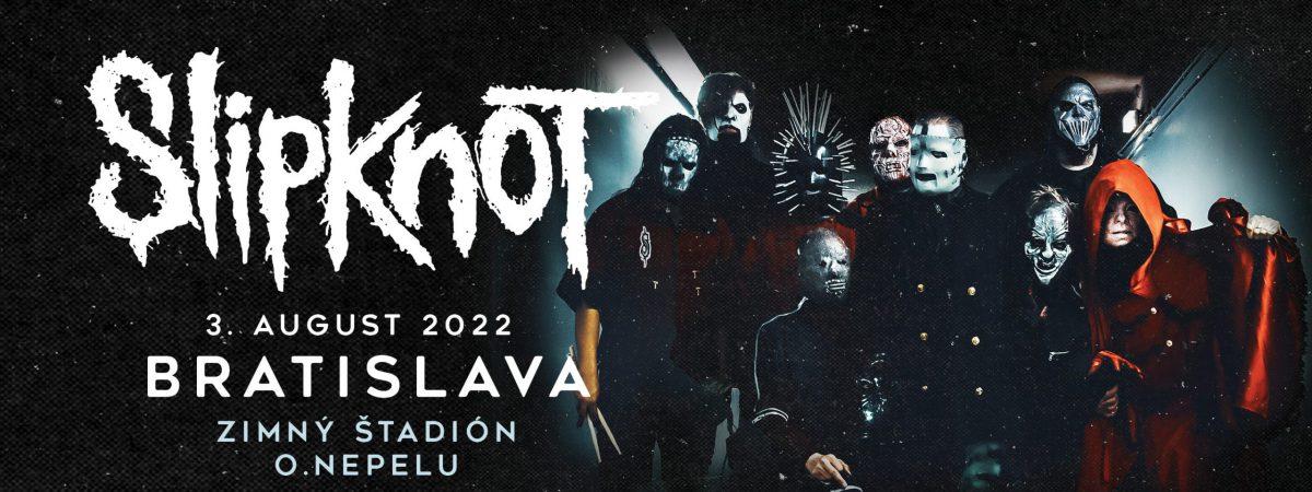 SLIPKNOT ohlásili nový termín prvního koncertu na Slovensku!