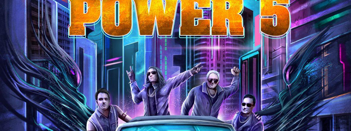 POWER 5 vydávají nové album ADRENALIN